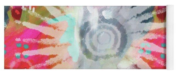 Summer Of Love- Art By Linda Woods Yoga Mat