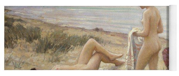 Summer On The Beach Yoga Mat
