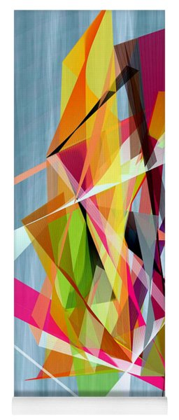 Yoga Mat featuring the digital art Summer  by Rafael Salazar