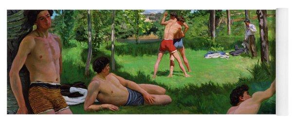 Summer Scene Yoga Mat