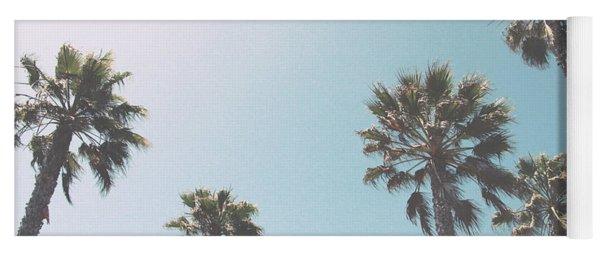 Summer Sky- By Linda Woods Yoga Mat