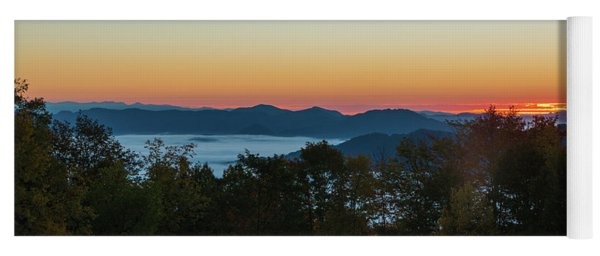 Summer Sunrise - Almost Dawn Yoga Mat