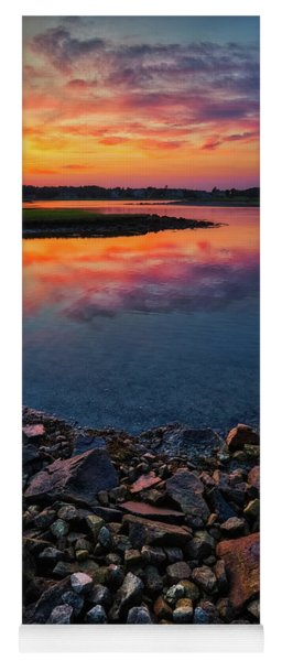 Summer Sunset In Rye Yoga Mat