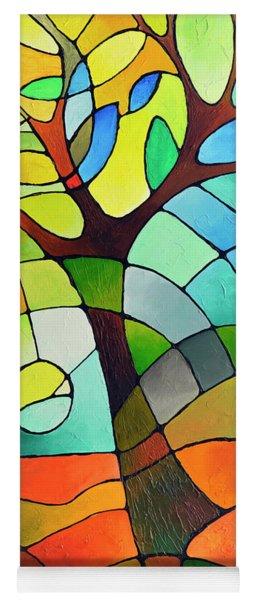 Summer Tree Yoga Mat