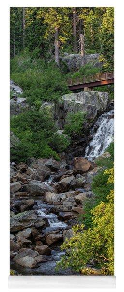 Summer Waterfall Yoga Mat