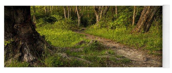Price Lake Trail - Blue Ridge Parkway Yoga Mat