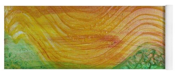 Sun And Grass In Harmony Yoga Mat