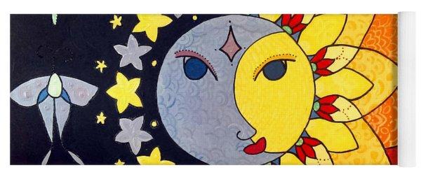Sun And Moon Yoga Mat