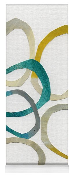 Sun And Sky- Abstract Art Yoga Mat