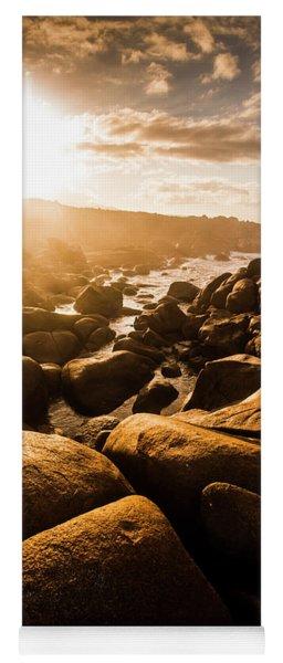 Sun Bleached Australia Beach Yoga Mat
