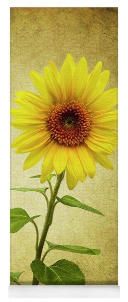 Sun Flower Yoga Mat