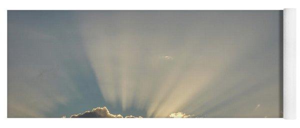 Sun Rays Yoga Mat