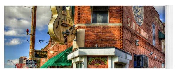 Sun Studio Rock N Roll Birthing Place Memphis Tennessee Art Yoga Mat