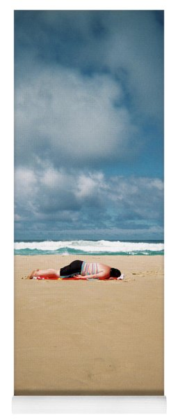Yoga Mat featuring the photograph Sunbather by Nik West