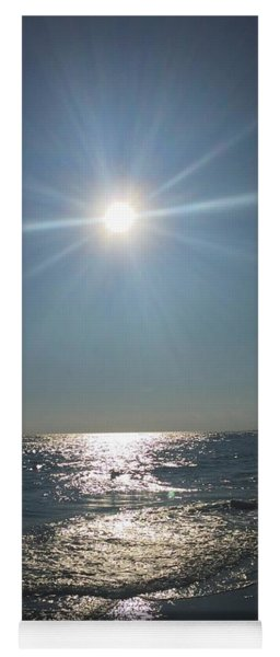 Sunburst Reflection Yoga Mat
