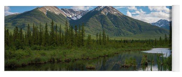 Sundance Peak In Vermillion Lakes Yoga Mat