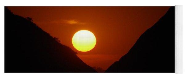 Sundown Yoga Mat