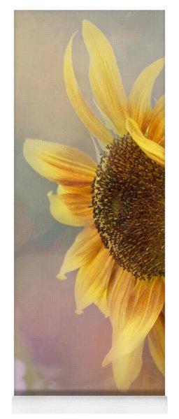 Sunflower Art - Be The Sunflower Yoga Mat
