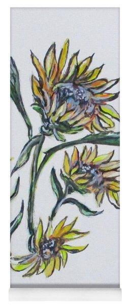 Sunflower Crazy Yoga Mat