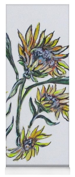 Sunflower Crazy Yoga Mat