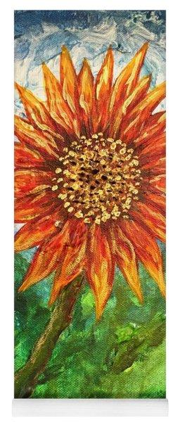 Sunflower Joy Yoga Mat