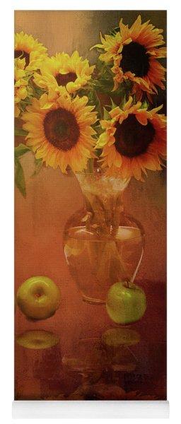 Sunflower Reflections Yoga Mat