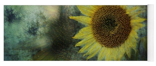 Sunflower Sea Yoga Mat