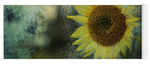 Yoga Mat featuring the photograph Sunflower Sea by Belinda Greb