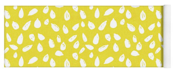Sunflower Seeds- Art By Linda Woods Yoga Mat
