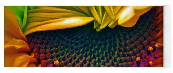 Sunflower Smoothie Yoga Mat