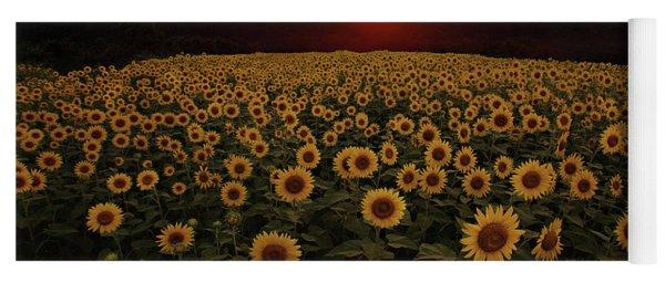 Sunflower Sunset Yoga Mat