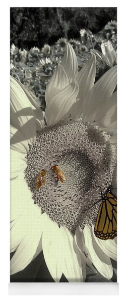 Sunflower Tint Yoga Mat