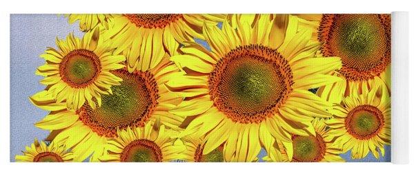 Sunflower Tree Yoga Mat
