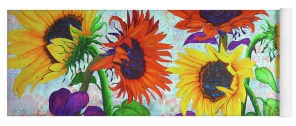 Sunflowers For Elise Yoga Mat