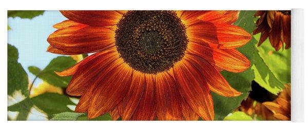 Sunflowers In Water Yoga Mat