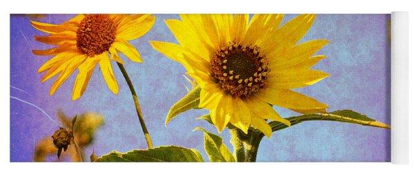 Sunflowers - The Arrival Yoga Mat