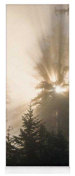Sunlight And Fog Yoga Mat