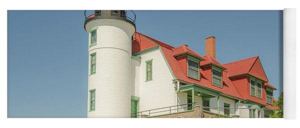 Sunlight On Point Betsie Lighthouse Yoga Mat
