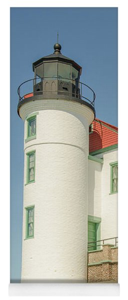 Sunlight On Point Betsie Lighthouse Yoga Mat