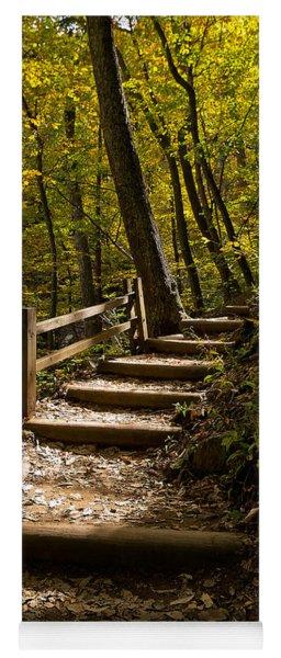 Sunlit Trail Yoga Mat