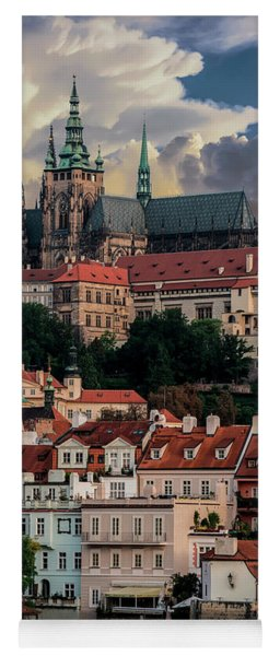 Sunny Afternoon In Prague Yoga Mat