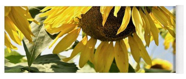 Sunny Day Sunflower Yoga Mat
