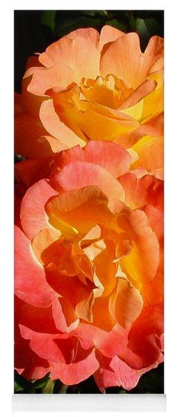Sunny Roses Yoga Mat