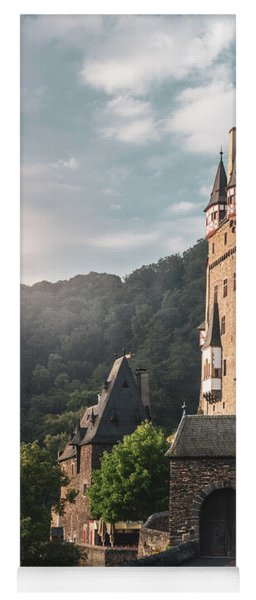 Sunrise At Castle Eltz, Germany Yoga Mat