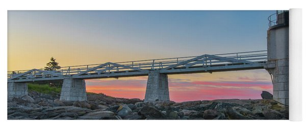 Sunrise At Marshall Point Yoga Mat