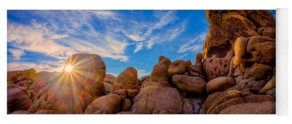 Sunrise At Skull Rock Yoga Mat