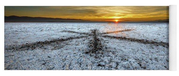 Sunrise At Soda Lake Yoga Mat