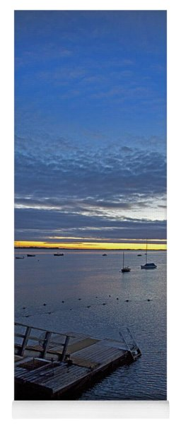 Sunrise At The Barnstable Yacht Club Yoga Mat