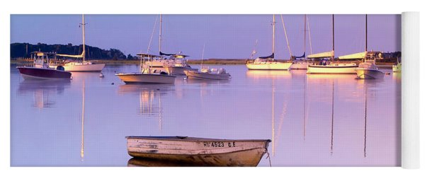 Sunrise At West Bay Osterville Cape Cod Yoga Mat