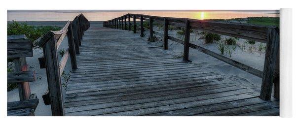 Sunrise Boardwalk, Cranes Beach Yoga Mat